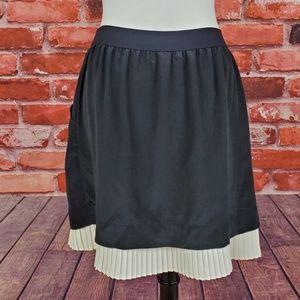 NWT BCBGMaxazria Shelby two layer Silk Skirt